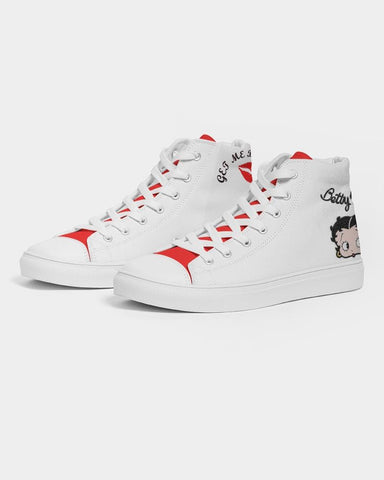 BETTY BOOP HIGH TOP SHOE