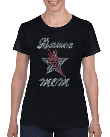 Image of Dance Mom Rhinestone T-Shirt