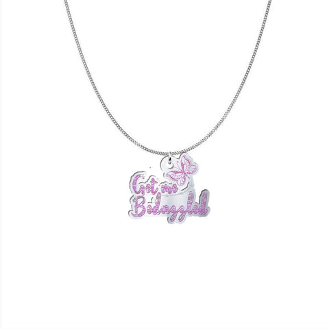 Engraved Logo Necklace