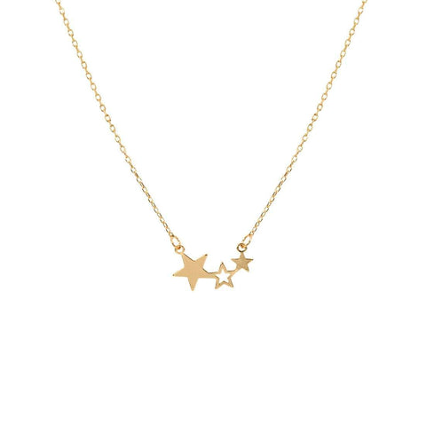 Image of Triple Star Necklace