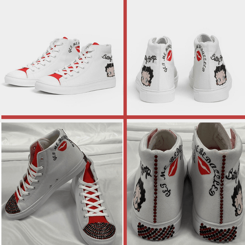 Image of BETTY BOOP HIGH TOP SHOE
