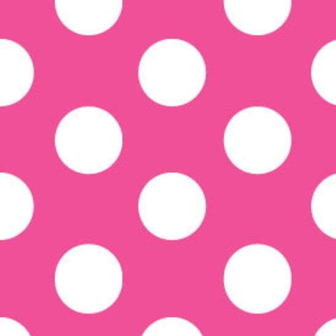 Hot Pink Dot Easter Bucket