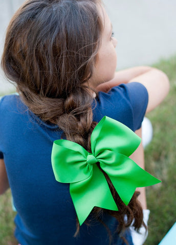 Image of Green Hair Bow