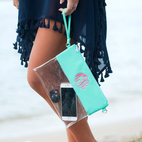 Image of Mint Clear Purse