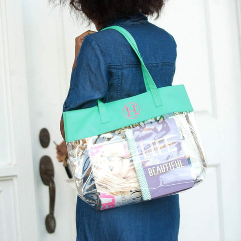 Image of Mint Clear Tote
