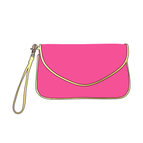 Image of Hot Pink Callie Purse