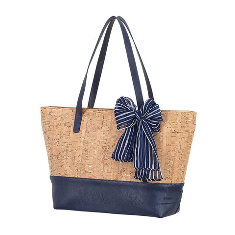 Image of Navy & Cork Charlotte Purse