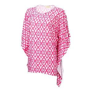 Hot Pink Mosaic Stella Top