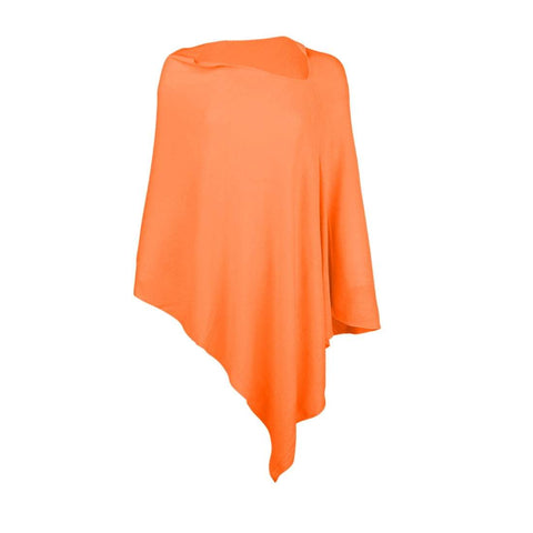 Image of Orange Chelsea Poncho