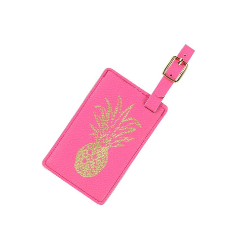 Image of Pineapple Luggage Tag