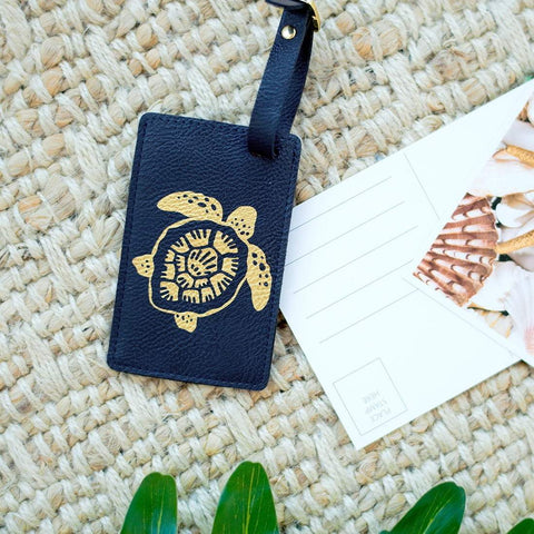 Image of Turtle Luggage Tag