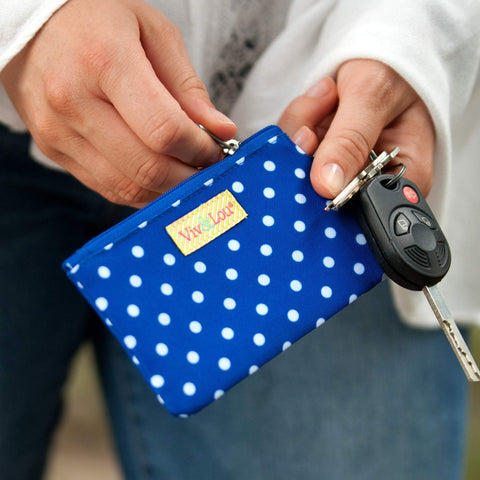 Image of Royal Blue Dot ID Case