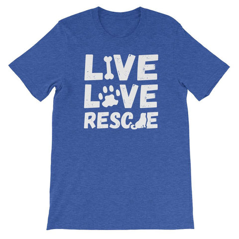 Image of Live Love Rescue- Unisex T-Shirt
