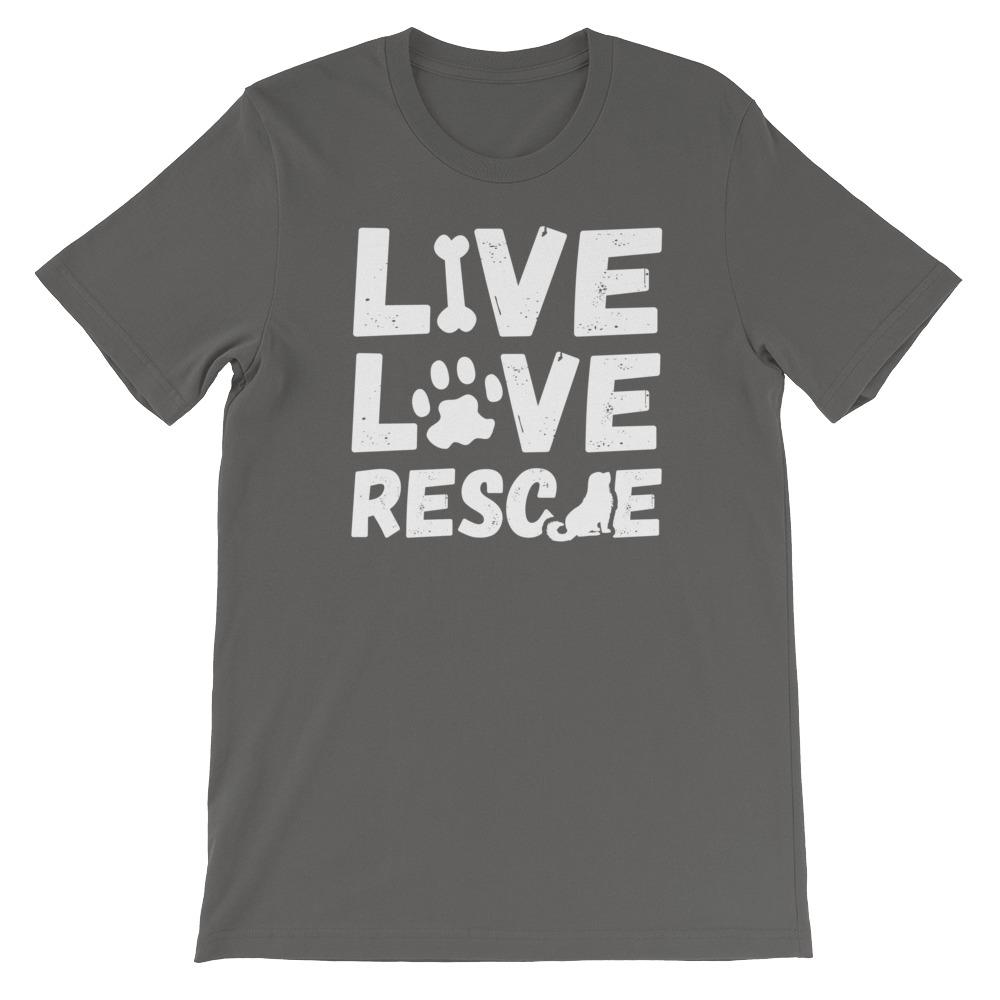 Live Love Rescue- Unisex T-Shirt