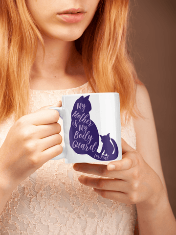 Image of Mothers Day Cat Mug... White Coffee Mug