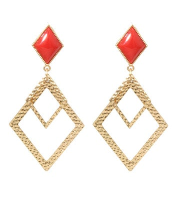 Image of Diamond Drop Earrings