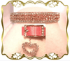 Girly Pink Bedazzled Collar