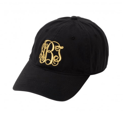 Image of Custom Embroidered Black Hat