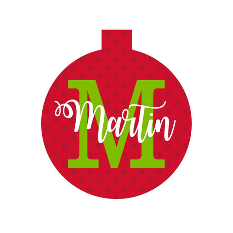 Image of Dottie Name Ornament