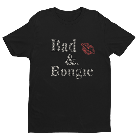 Image of Bad & Bougie Rhinestone T-Shirt