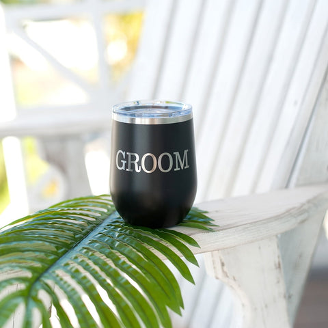 Image of Groom 12 oz Tumbler