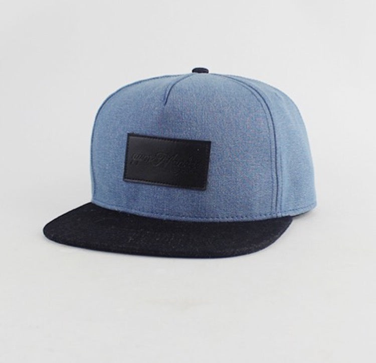 Blue Denim Snapback