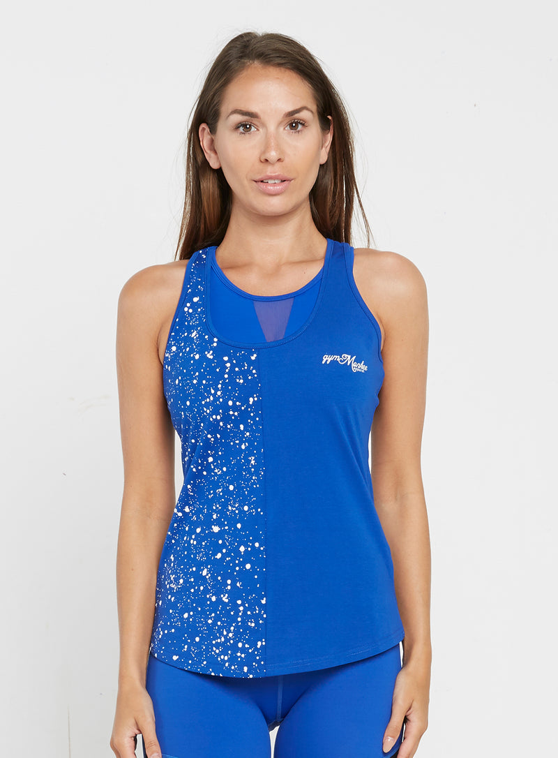 Blue Speckled Tank