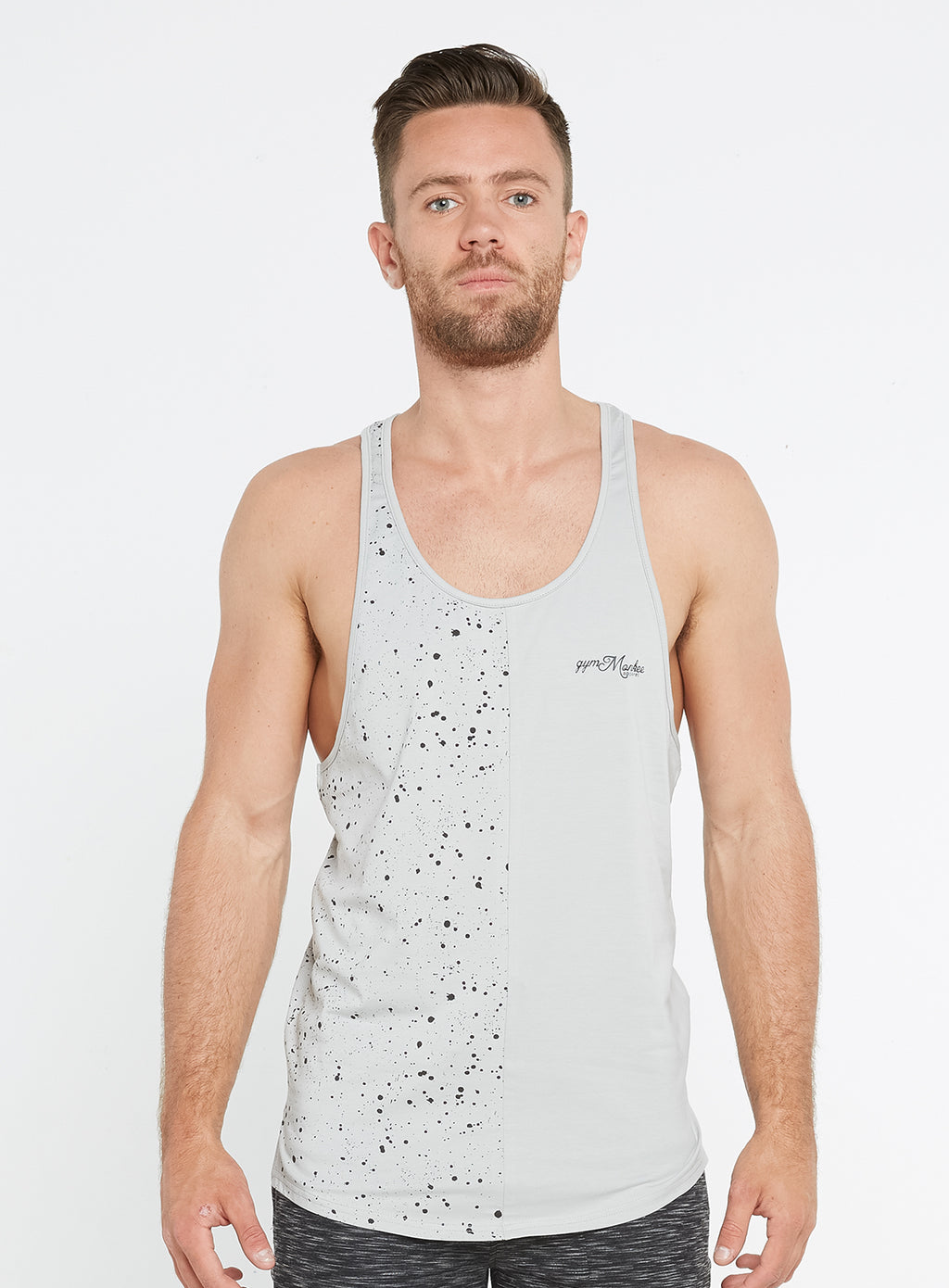 Grey Speckled Vest