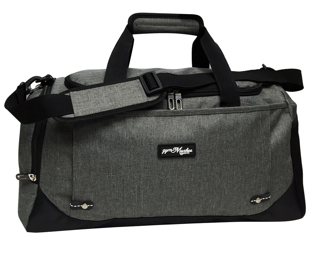 Gym Monkee - Holdall LOGO SIDE VIEW
