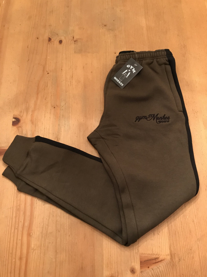 Gym Monkee - Khaki Joggers