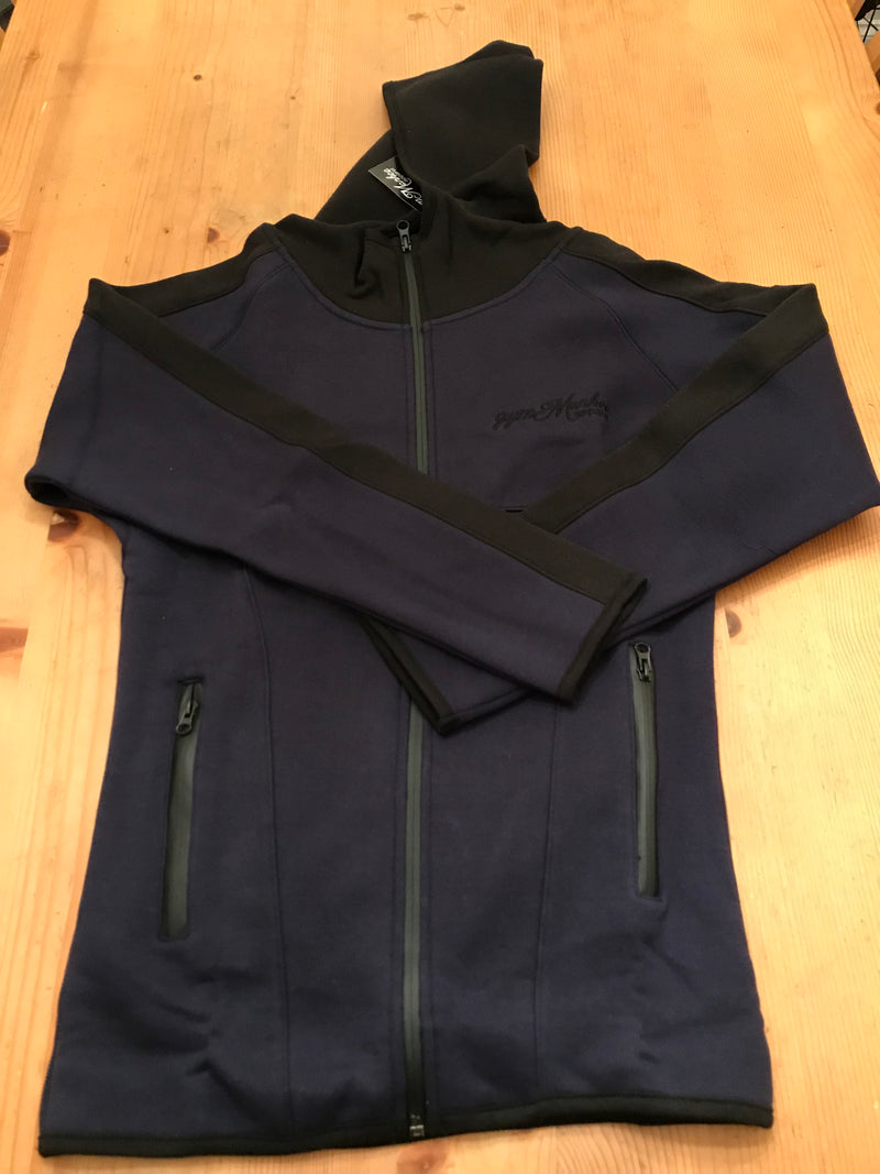 Gym Monkee - Navy Zipped Hoodie