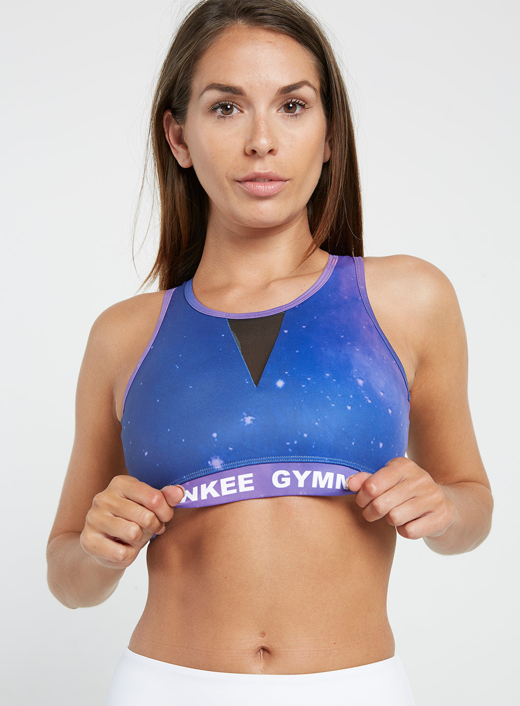 Gym Monkee - Polaris Sports Bra FRONT CLOSEUP