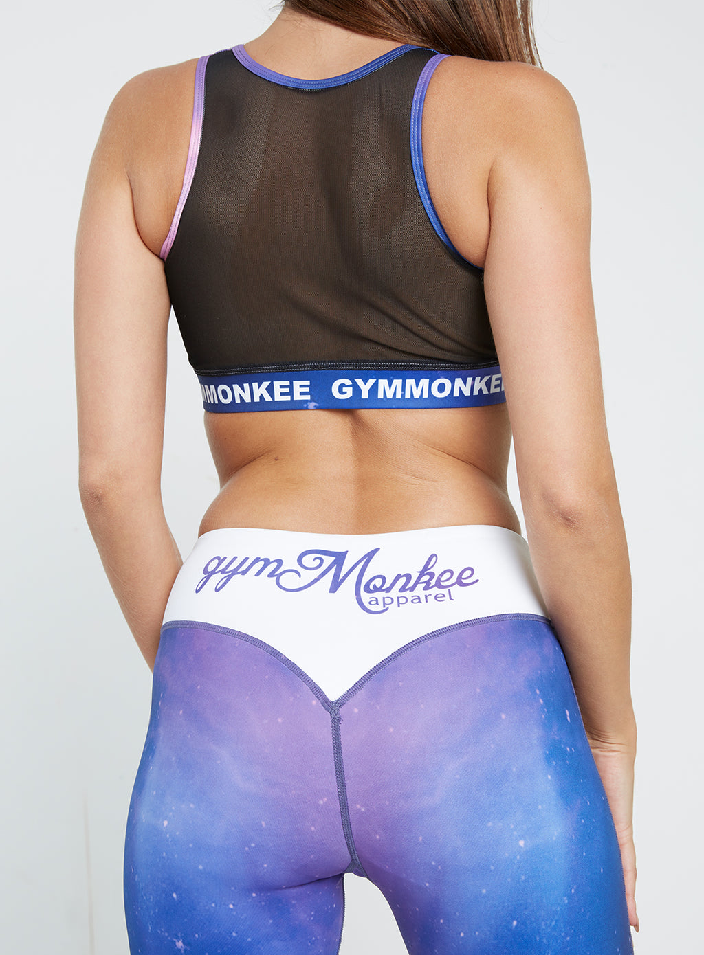 Gym Monkee - Polaris Sports Bra REAR CLOSEUP