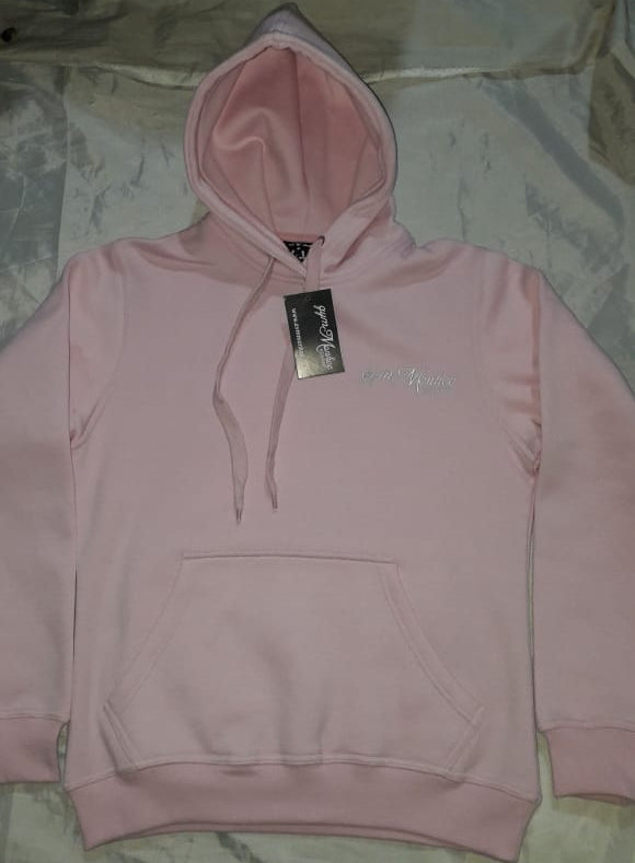 Gym Monkee - Pink Bold Hoodie FRONT