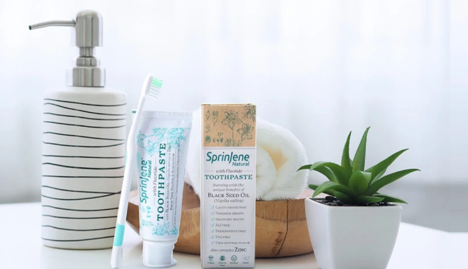 Natural Toothpaste Perfect for All Dental Needs