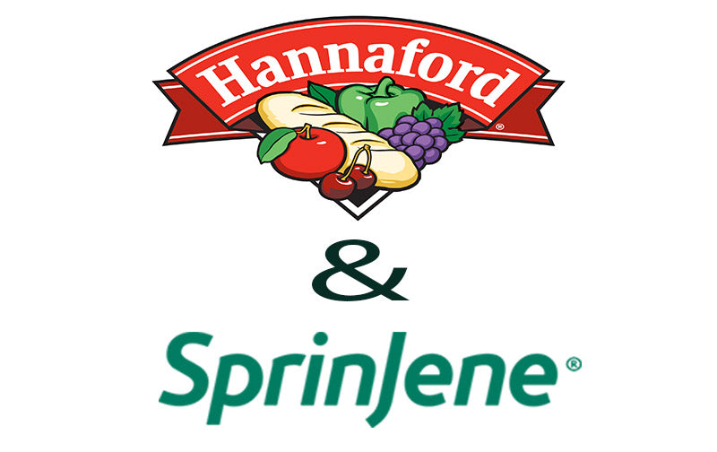 SPRINJENE LAUNCHES INTO 150 HANNAFORD STORES