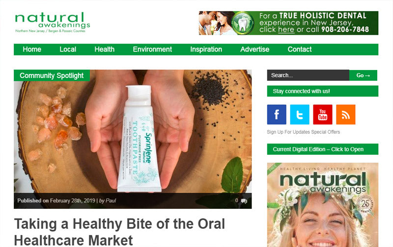 Taking a Healthy Bite of the Oral Healthcare Market