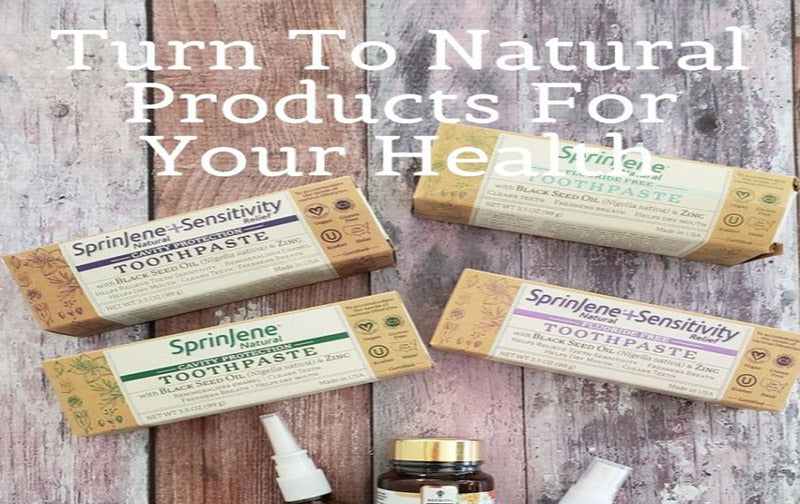 SprinJene Natural in Turn To Natural Products For Your Health
