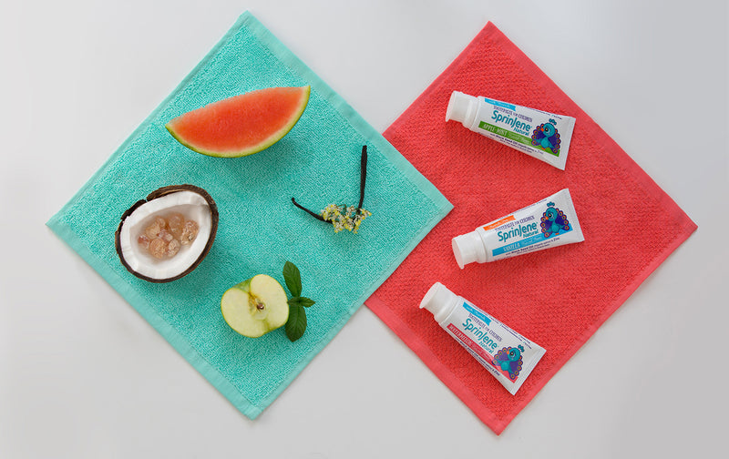 New SprinJene Natural® toothpaste offers a natural oral care option for kids