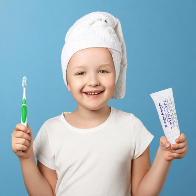 RAPID RELIEF WITH MINT NATURAL TOOTHPASTE FOR SENSITIVITY