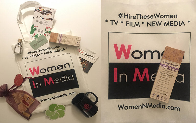SPRINJENE SPONSORED THE WOMEN IN MEDIA EVENT IN LOS ANGELES