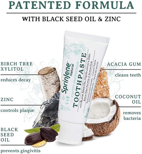 SprinJene Natural Toothpaste Ingredients