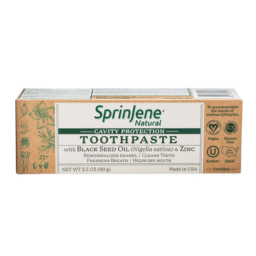 SprinJene Natural® Cavity Protection Toothpaste - Sprinjene
