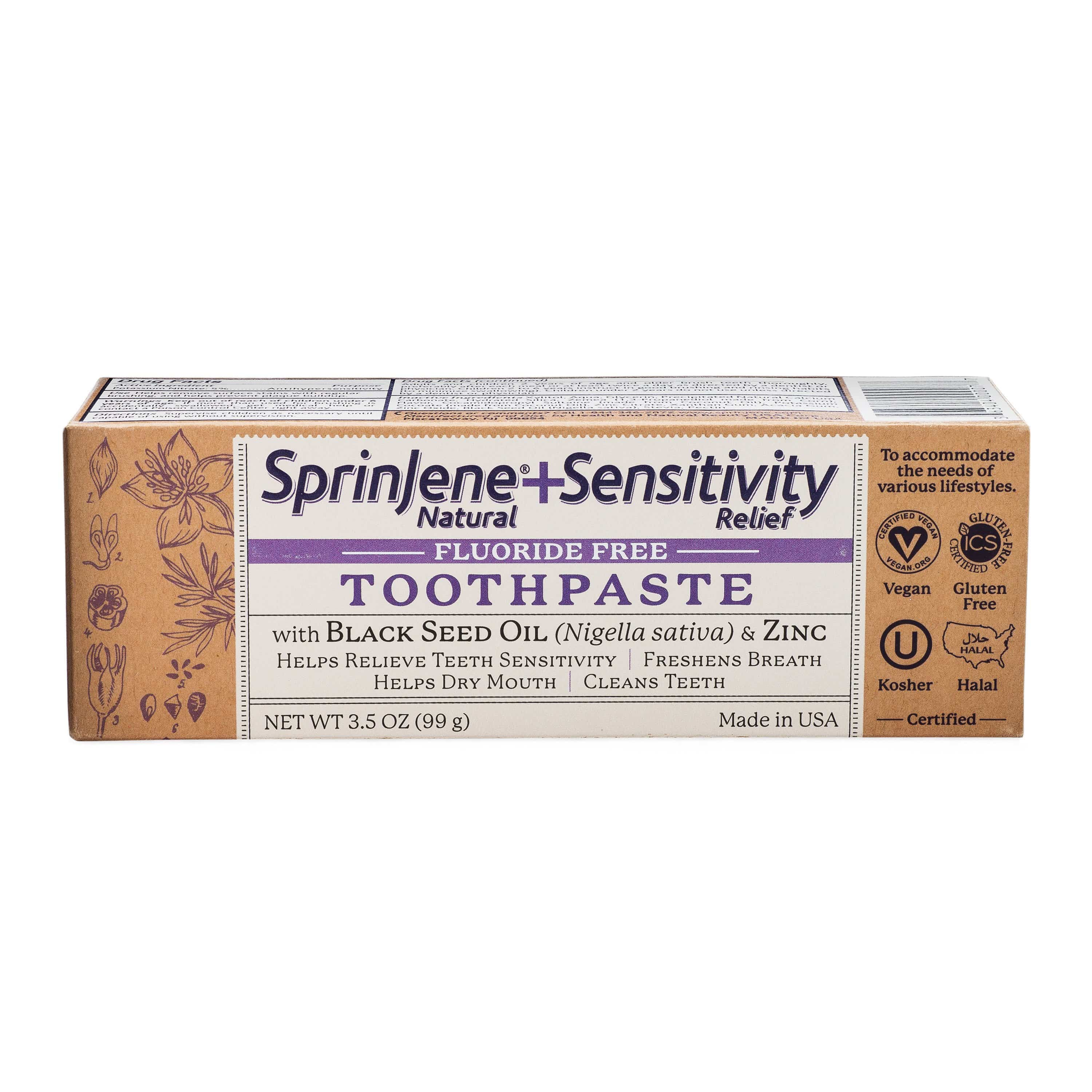 Adult Natural Sensitivity Relief Fluoride Free