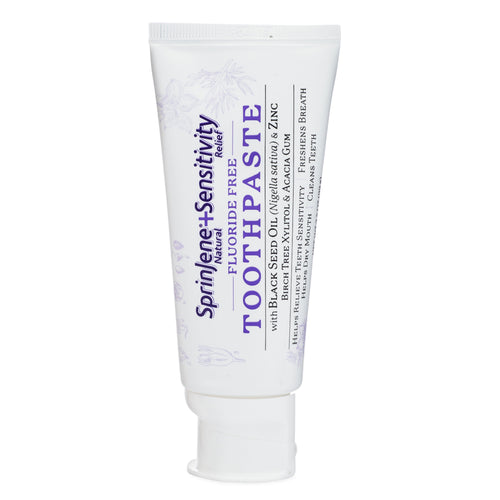SprinJene Natural® Sensitivity Relief Fluoride Free Toothpaste