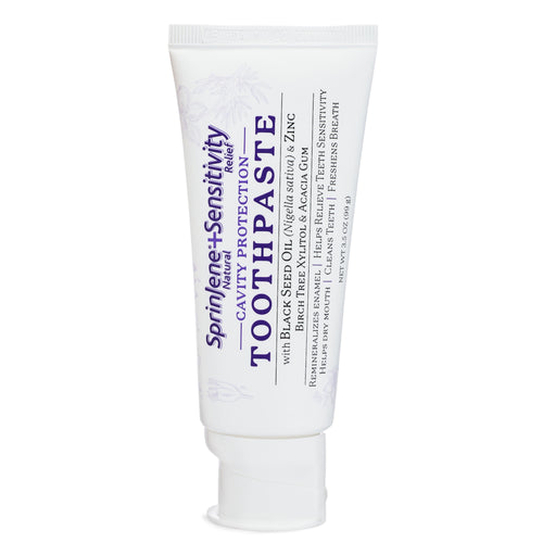 SprinJene Natural® Sensitivity Relief Toothpaste With Cavity Protection