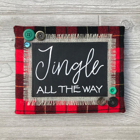 Jingle All the Way – Handmade Décor – 8x10""