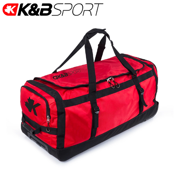 K & B Sports Roller Duffle Bag