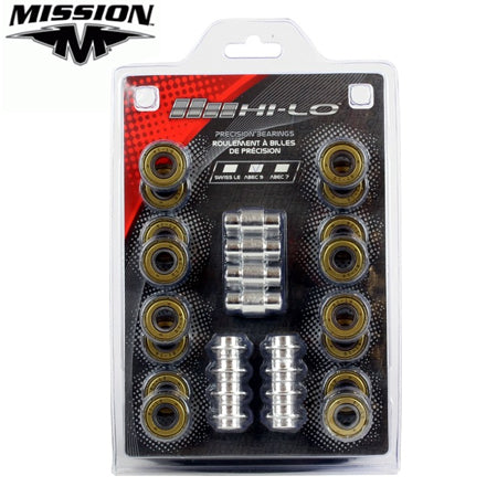 Mission Hi-Lo ABEC 9 Bearings