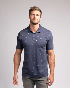 "Travis Mathew ""Happy Thoughts"" Polo"